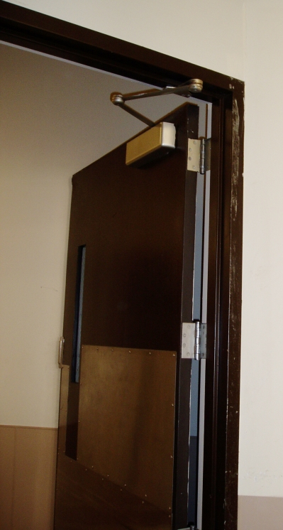 LaForce Door Code Violation Photo Example