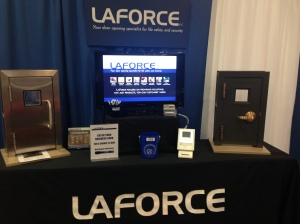 LaForce booth at the WHEA Conference trade show on September 23.