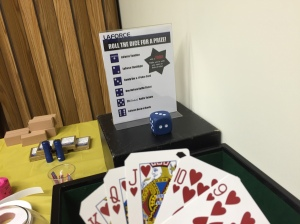 Green Bay risk takers took away fun prizes during the company-wide poker game.