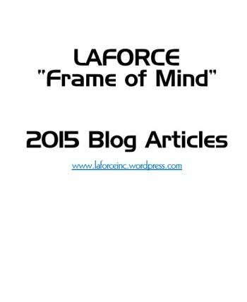 2015 Blog Articles LaForce Frame of Mind