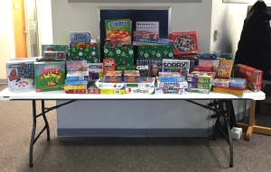 Over 100 games collected for Green Bay area elementary schools