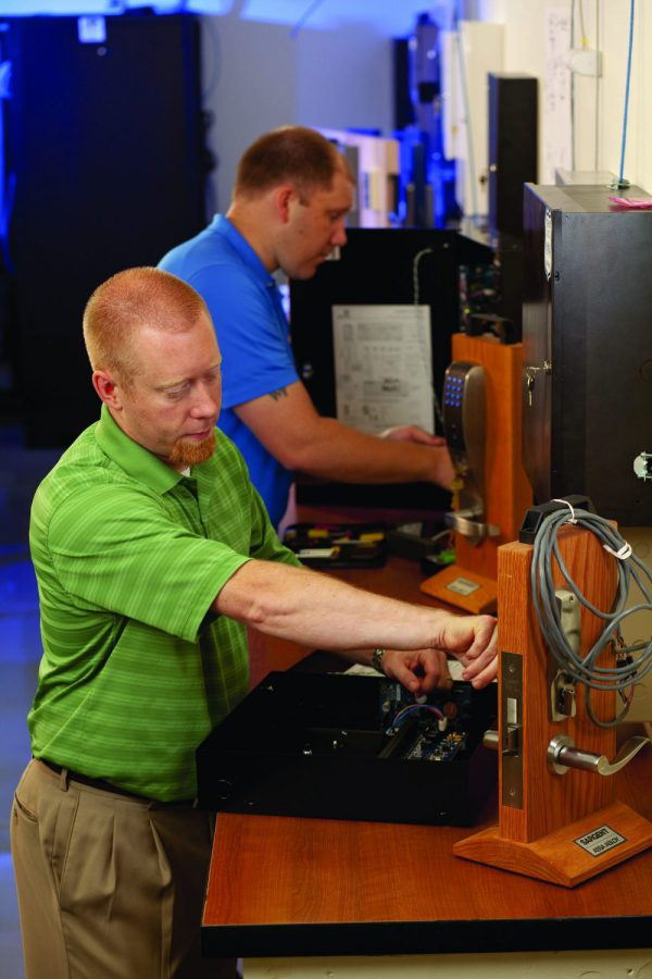 LaForce has on-site Security Evaluation Labs where security team members evaluate new equipment and products.