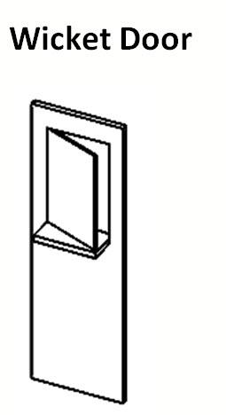 Wicket Door u2013 A swinging door within a door.  sc 1 st  LaForce Frame of Mind - WordPress.com & Door Frame and Hardware Glossary u2013 LaForce Frame of Mind