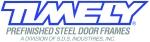 Timely Pre-Finished Steel Door Frames