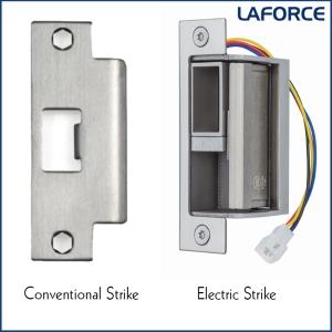 Conventional Strike vs Electrified Strike - LaForce Inc