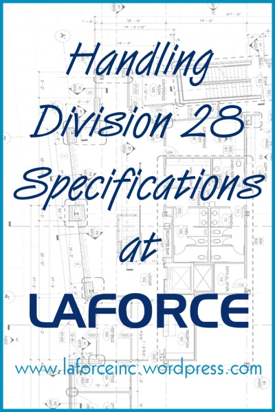 All intelligent devices for an opening are now included under Division 28. To adjust to these changes, LaForce has trained estimators and integrators on the latest technology and developments in building security. This allows us to quickly interpret an architect or building owner's security desires for a given building, and recommend an effective system and/or set of products. It is our objective to be an educated resource to our colleagues across the industry: architects, building owners, general contractors, and electrical contractors.