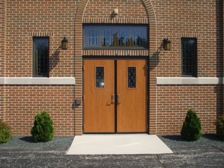 LaForce Inc Wood Church Door