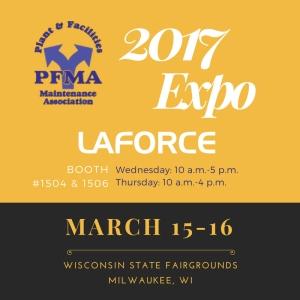 LaForce Inc 2017-pfma-plant-facilities-maintenance-association-expo