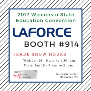LaForce Inc 2017-wasb-wisconsin-state-education-convention