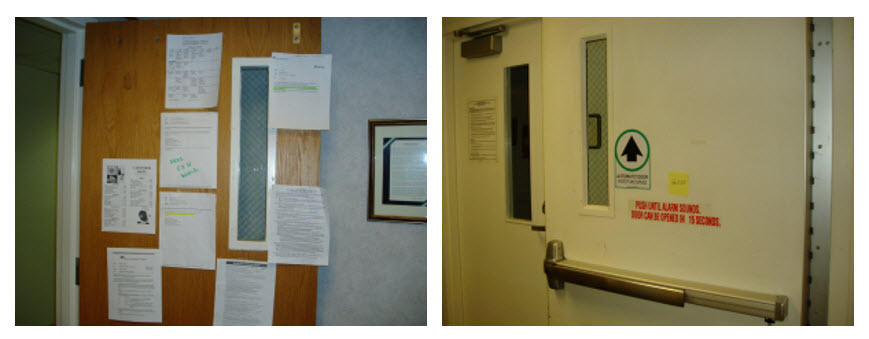 Code Alert Fire Rated Doors And Signage Laforce Frame