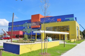 DMC Childrens Hospital Exterior