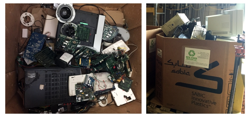 Electronics Recycling at LaForce