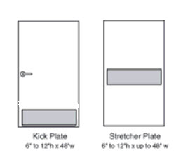 Kick Plate / Stretcher Plate