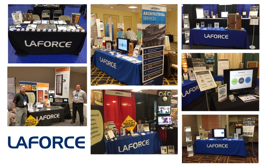 LaForce Trade Shows Spring 2017 Booth Pictures